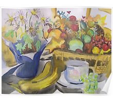 Still Life and Coffee Poster
