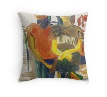 Fast Food Decisions Throw Pillow