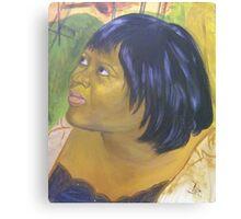 Debbie Douglass, A Self Portrait Canvas Print