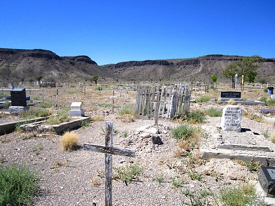 Last Rites In The Deserts Of Nevada by marilyn diaz