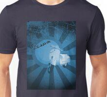 Vespa Tee Blue Unisex T-Shirt