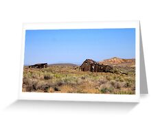 Lost In The Desert Greeting Card