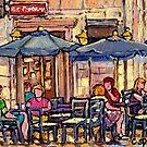 OLD MONTREAL CAFE BISTRO SUNDAY BRUNCH by Carole  Spandau
