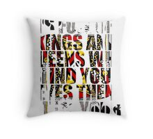 The World Is Full Of Kings And Queens - Heaven And Hell Throw Pillow