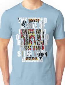 The World Is Full Of Kings And Queens - Heaven And Hell Unisex T-Shirt