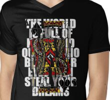 The World Is Full Of Kings And Queens - Heaven And Hell Mens V-Neck T-Shirt