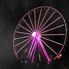 Purple Wheel by Emlyn Bell