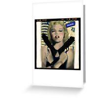 Marilyn. Thug Life. Elixir Designs. Greeting Card