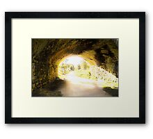 A bridge to nowhere... Framed Print