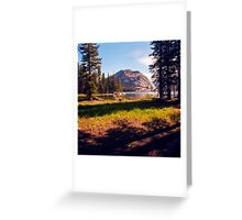 Tenaya Lake. Yosemite National Park, CA. Greeting Card