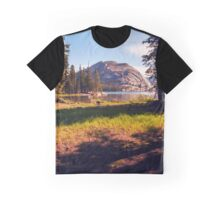 Tenaya Lake. Yosemite National Park, CA. Graphic T-Shirt