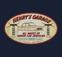 Henry's Garage (Aged) by Zort70