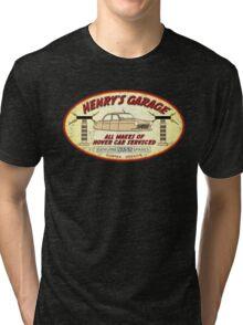 Henry's Garage (Aged) Tri-blend T-Shirt