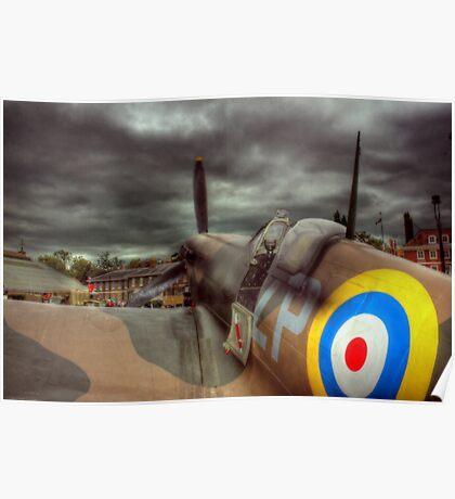 Spitfire Mk 2  Poster