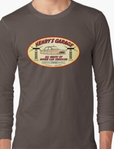 Henry's Garage (Original) Long Sleeve T-Shirt