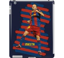 Iniesta - BCN football player iPad Case/Skin