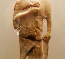 ancient greek statue Sticker