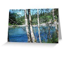 So. Stillaguamish River from Camp Silverton-Waldheim Greeting Card