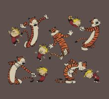 calvin and hobbes Dance One Piece - Short Sleeve