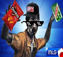 MLG Zombie by ITzSenpai