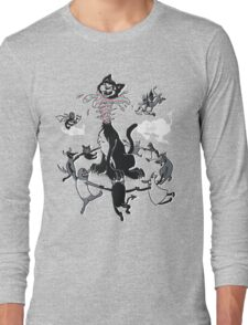 DeCATpitated Long Sleeve T-Shirt