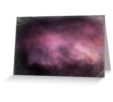 Misty Moon Greeting Card