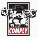 Obey ED-209 by mcnasty