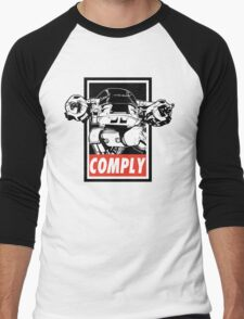 Obey ED-209 Men's Baseball ¾ T-Shirt