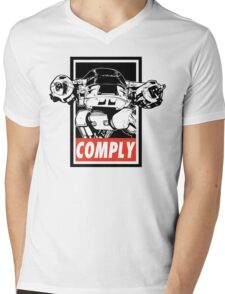 Obey ED-209 Mens V-Neck T-Shirt