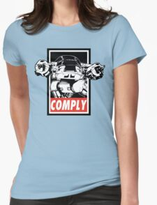 Obey ED-209 Womens Fitted T-Shirt