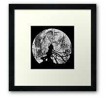 Shell of a ghost! Framed Print