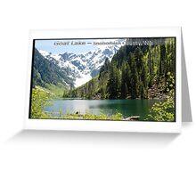 Goat Lake Greeting Card