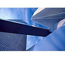 WTC. 1980's. Photographic Print