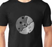 mechanical moon (gray) Unisex T-Shirt