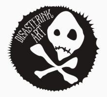 disasterink simple skull by disasterink