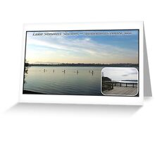 Lake Stevens Greeting Card