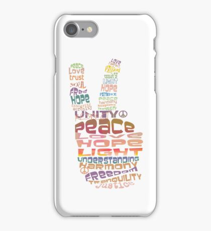 Peace sign iPhone and iPod case iPhone Case/Skin