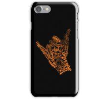 shaka hand sign iphone ipod case iPhone Case/Skin