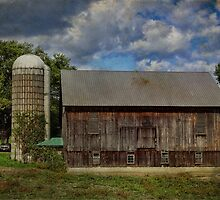 Barn with Silo by vigor