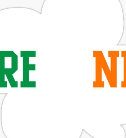 Ireland clover Sticker