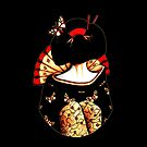 geisha girl iphone ipod case by © Karin  Taylor