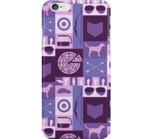 purple minimalist iPhone Case/Skin