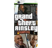 Grand Theft Ainsley iPhone Case/Skin