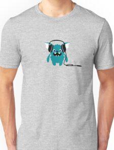 Monster with Headphones Unisex T-Shirt