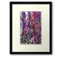 The Language of Trees Framed Print