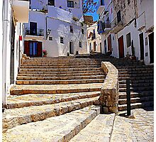 Ibiza Old Town Photographic Print