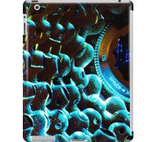 Turquoise Shadowy Bike Cassette  iPad Case/Skin