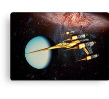 Returning To Base Canvas Print