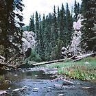 Jemez River, New Mexico by miriielizabeth