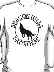 Teen Wolf - Beacon Hills Lacrosse Tee (Black Print) T-Shirt